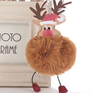 Accessories - NEW Cute Reindeer Pom Pom Handbag Charm / Keychain